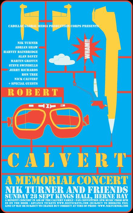 Robert Calvert memorial concert (poster, 2008)