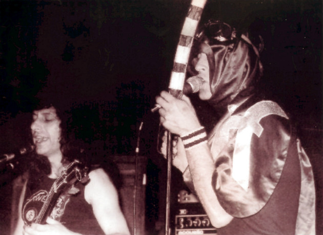Ade & Bob Calvert (early 1978)