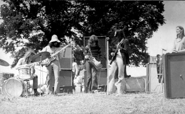 Magic Muscle at Glastonbury Fayre (1971)