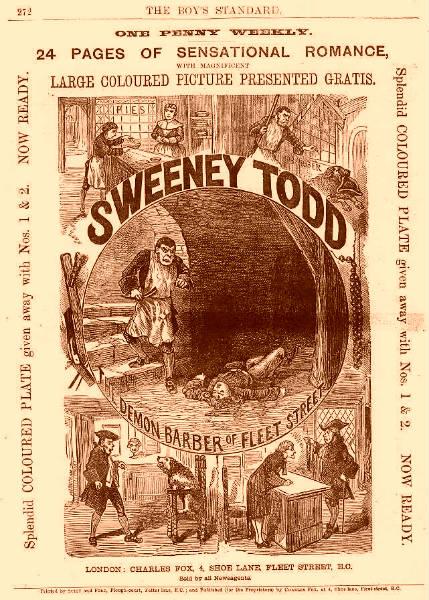 Μια γνωστή έκδοση 'penny dreadful'