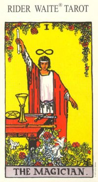 original Rider-Waite Tarot card