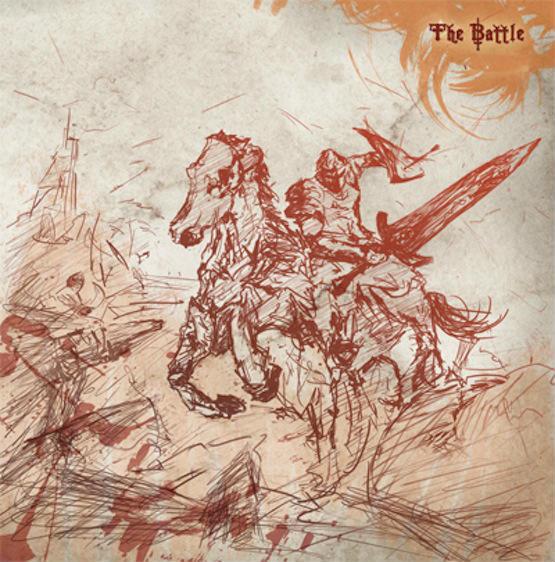 """Yimin Li's artwork for """"The Battle"""""""