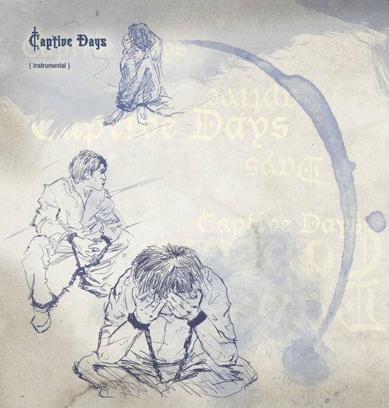 "Yimin Li's artwork for ""Captive Days"""