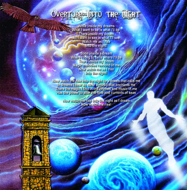 """Sam Del Russi's artwork for """"Overture: Into the Night"""""""
