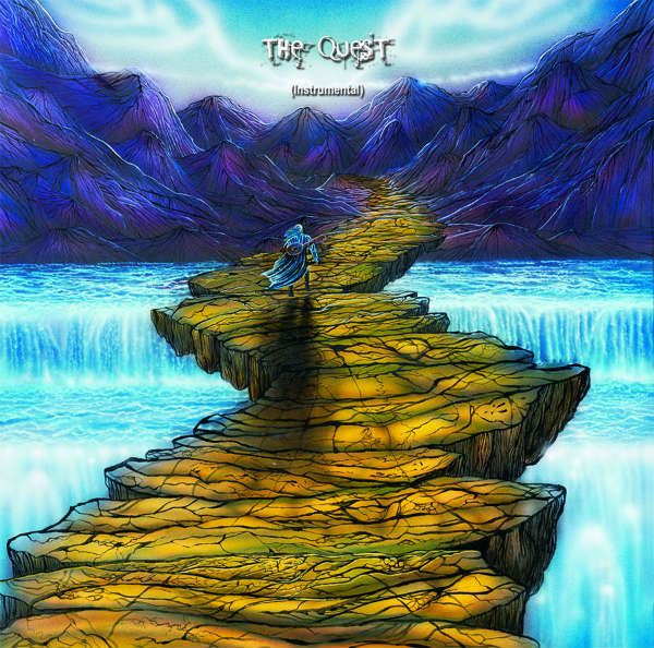 "Sam Del Russi's artwork for ""The Quest"""