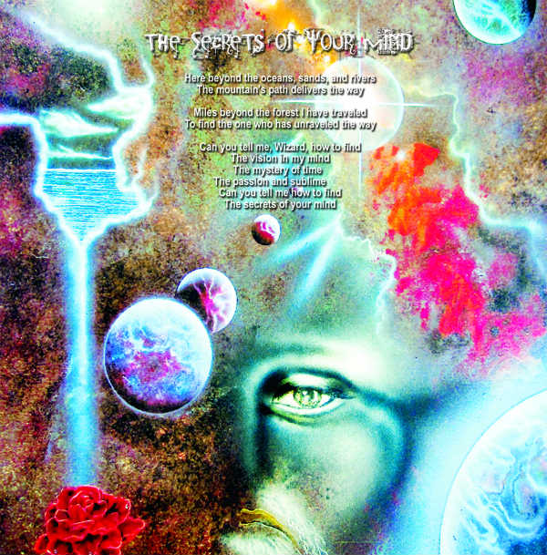 "Sam Del Russi's artwork for ""The Secrets of Your Mind"""