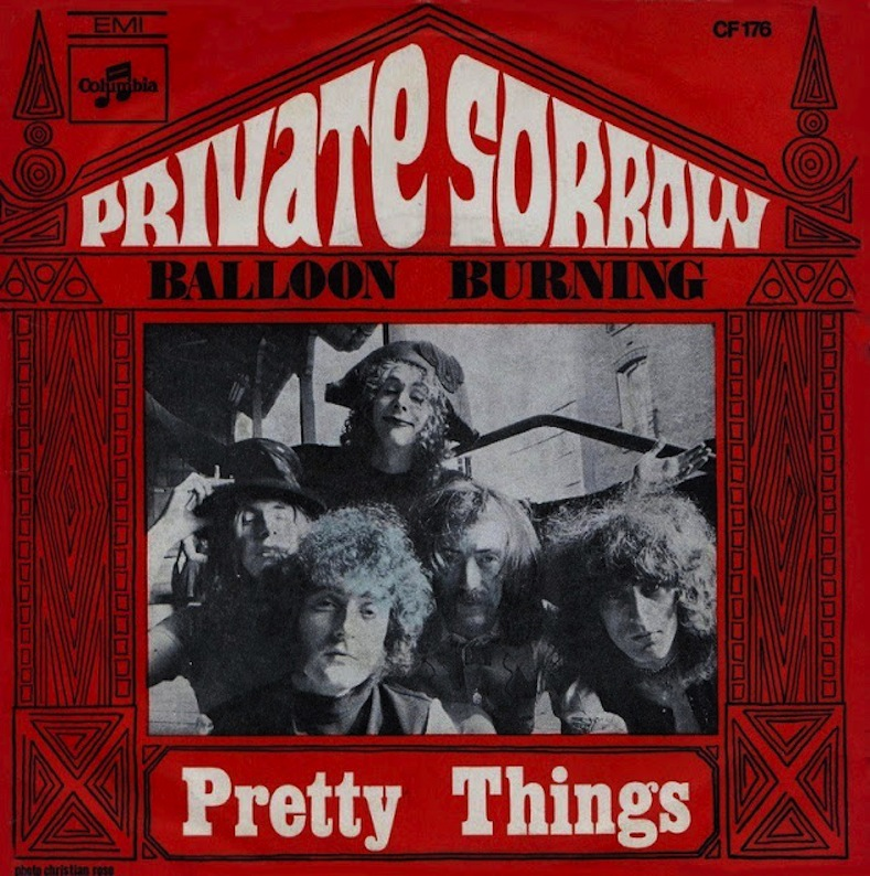 The Pretty Things - Private Sorrow / Balloon Burning