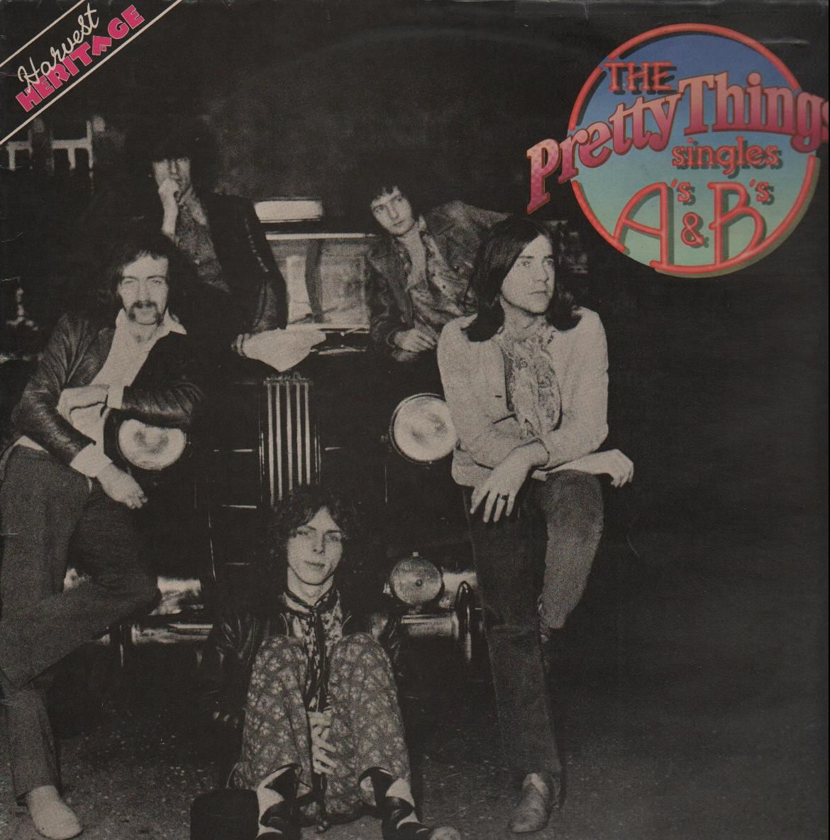 """The Pretty Things - """"The Singles A's & B's"""" LP (1977)"""