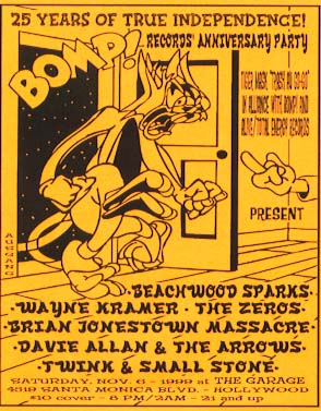 Twink on a Bomp! poster