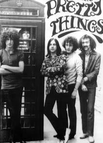 with the Pretty Things