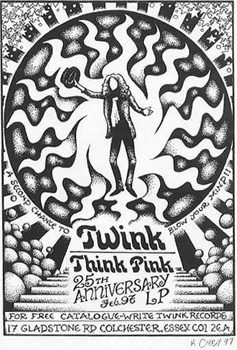 Think Pink 25th Anniversary poster