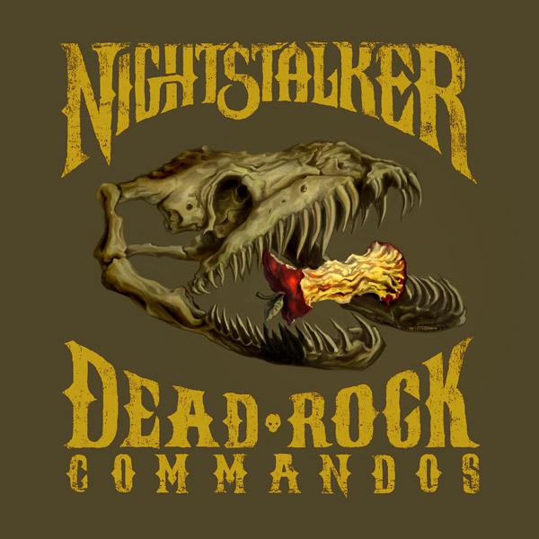 """""""Dead Rock Commandos"""" cover"""
