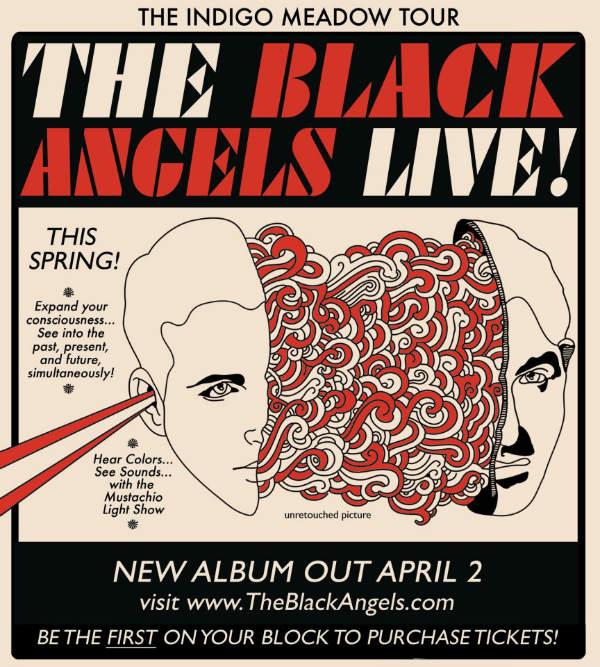 'Indigo Meadow' tour poster (Spring 2013)