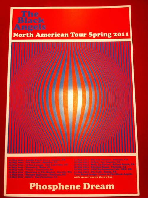 'Phosphene Dream' tour poster