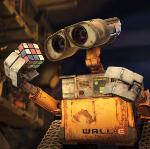 Wall-e & friend