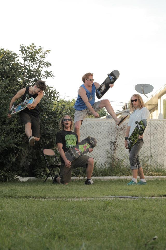 Chron Goblin with skateboards