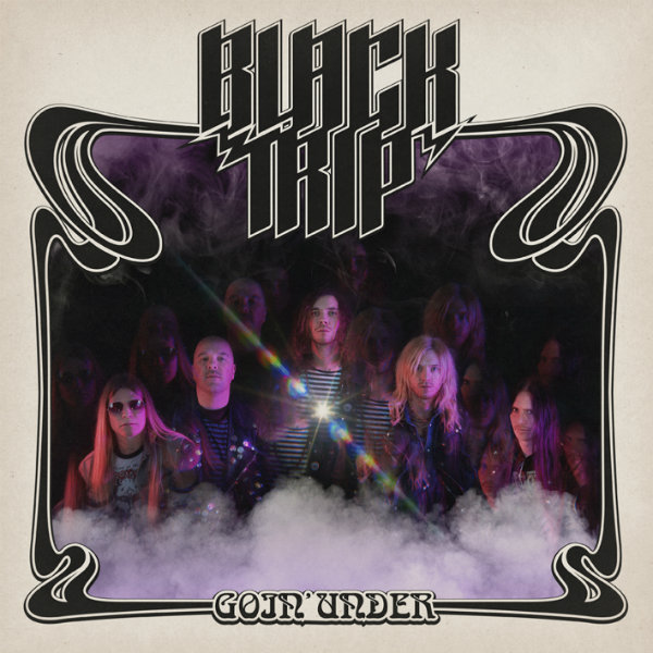 "Black Trip - ""Goin' Under"" LP cover"