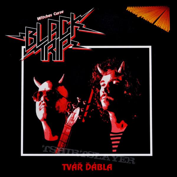 """Black Trip - """"Tvář Ďábla"""" 7'' cover"""
