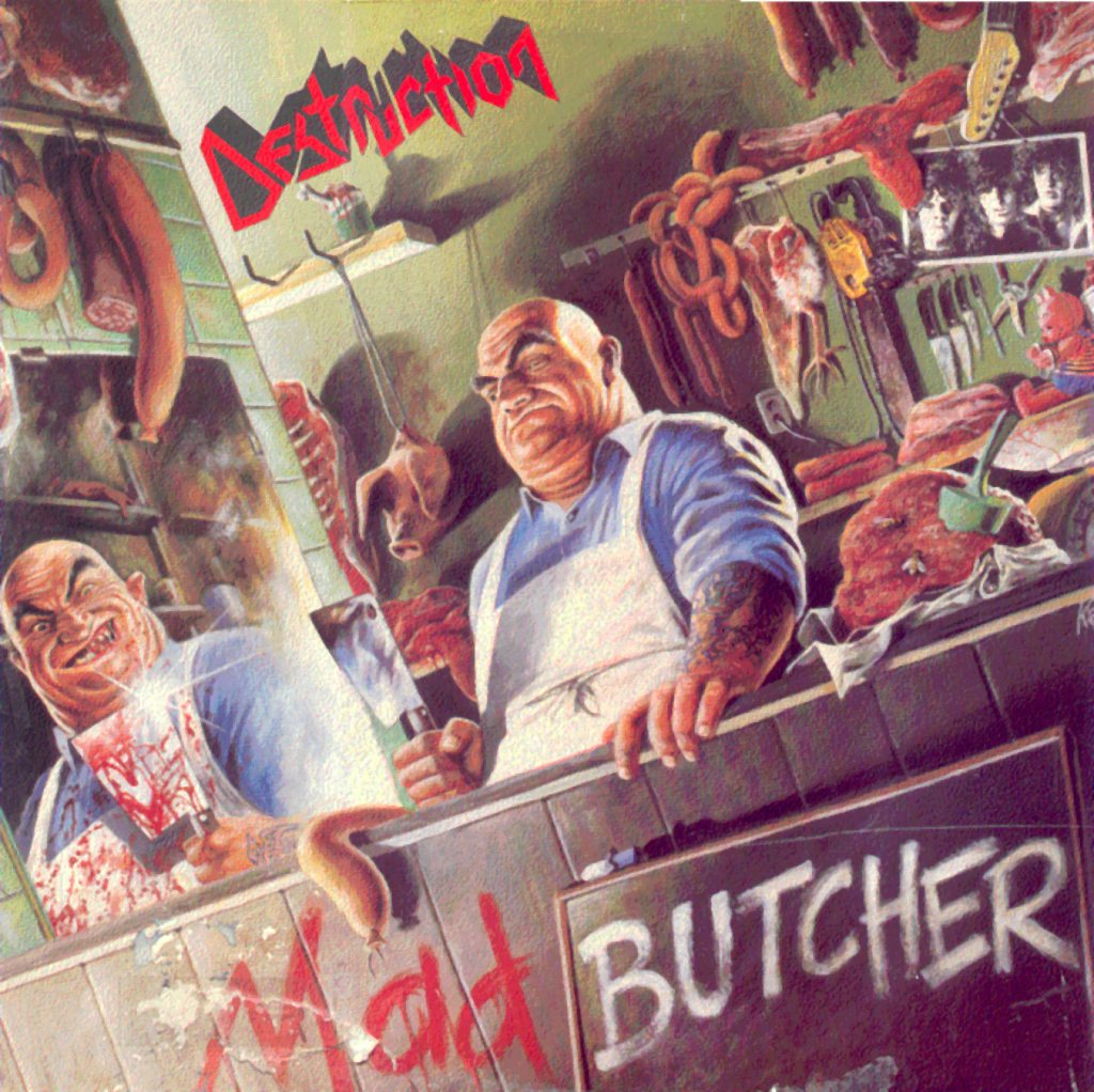 Destruction - Mad Butcher EP (1987)
