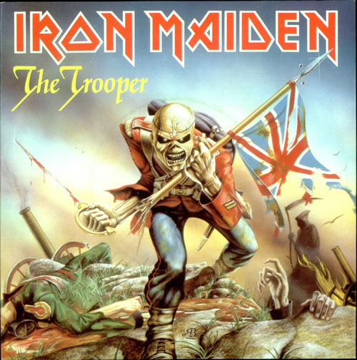 "Iron Maiden - The Trooper 7"" (1983)"
