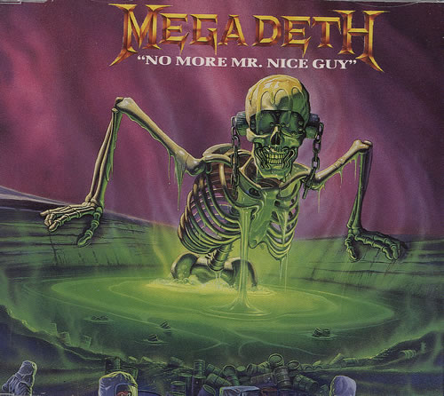 "Megadeth - No More Mr. Nice Guy 12"" (1989)"