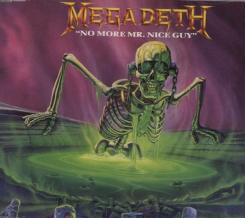 """Megadeth - No More Mr. Nice Guy 12"""" (1989)"""