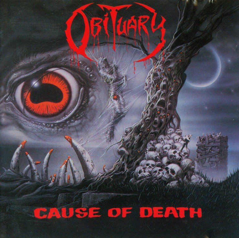 Obituary - Cause of Death (1990)