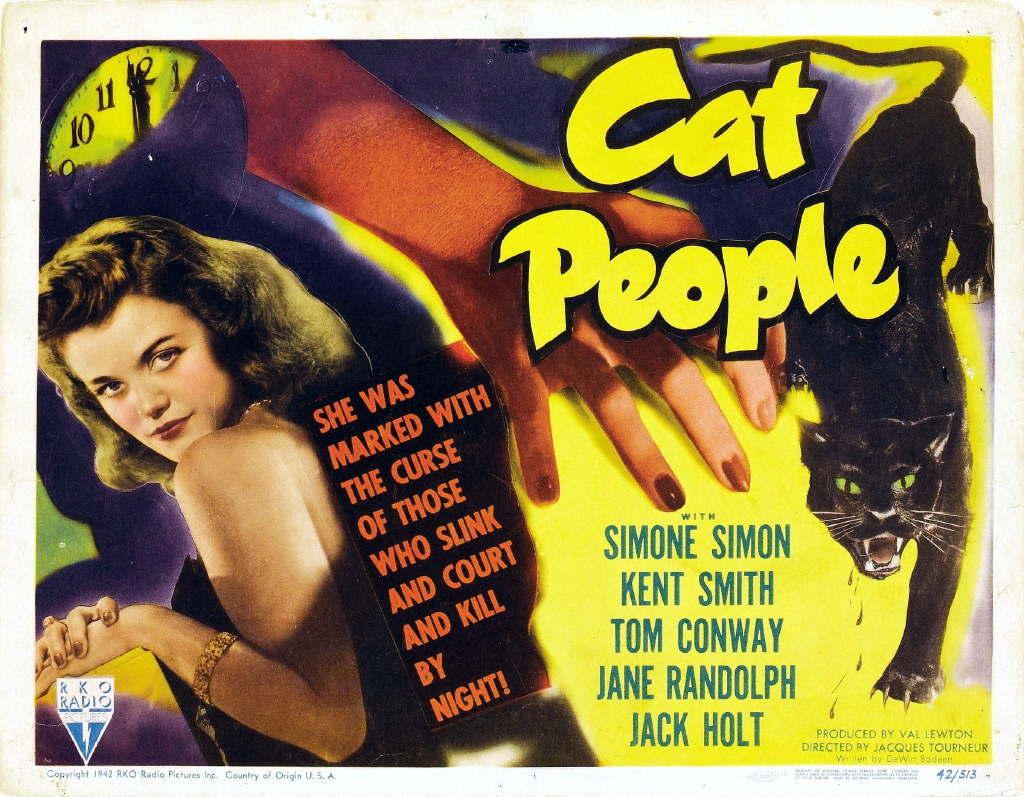 """Jacques Tourneur & Val Lewton's """"Cat People"""" (1942)"""